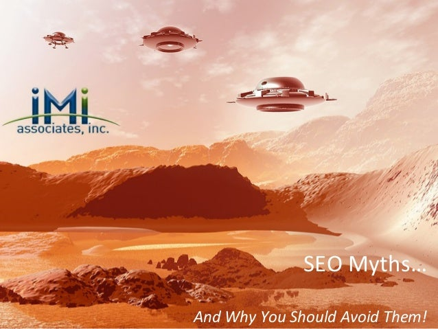 SEO Myths… And Why You Should Avoid Them!