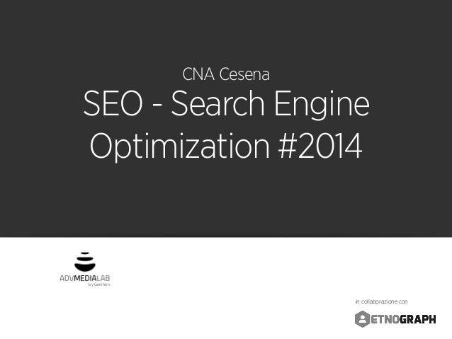 SEO - Search Engine Optimization #2014