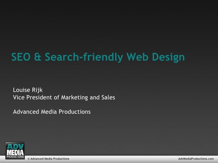 SEO and Search-friendly Web Design