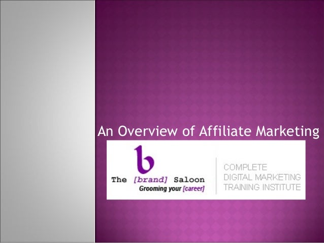 An Overview of Affiliate Marketing