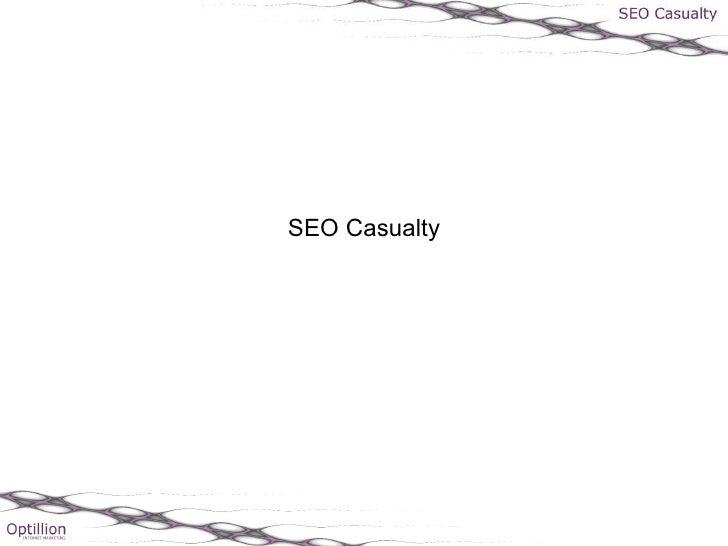 Seo casualty - Gavin Walker