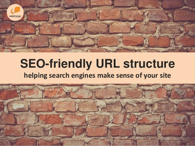SEO-friendly URL structure helping search engines make sense of your site
