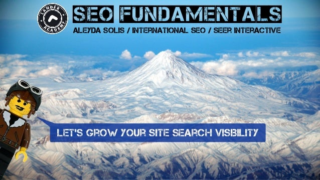 seo fundamentals aleyda solis / international seo / seer interactive let's grow your site search visibility