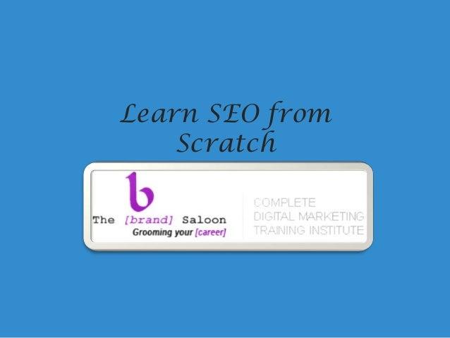 Learn SEO from Scratch