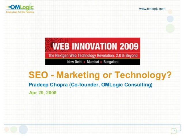 SEO - Marketing or Technology?