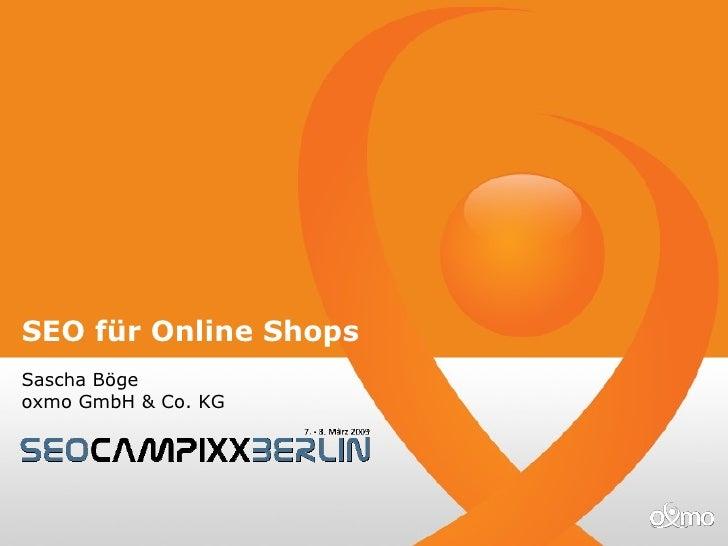 Seo Online Shops Seo Campixx