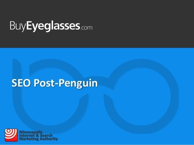 SEO Post-Penguin