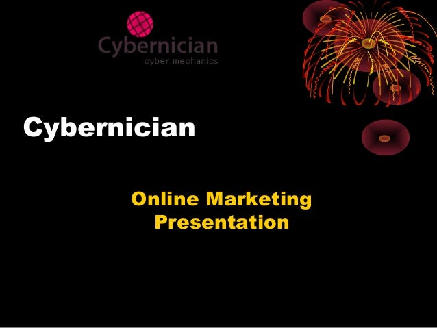 Cybernician Online Marketing Presentation