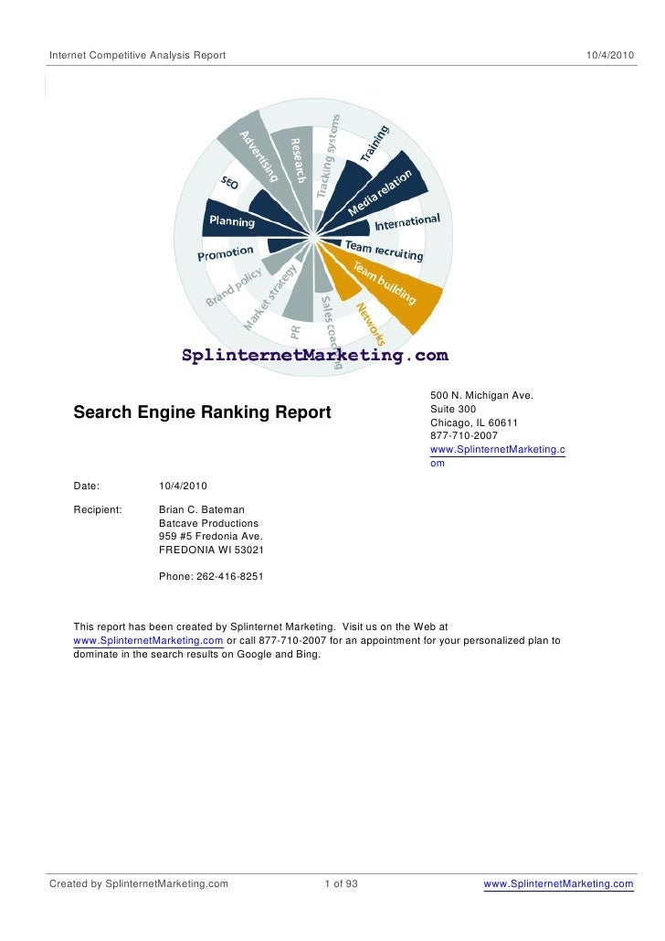 Internet Competitive Analysis Report                                                                     10/4/2010        ...