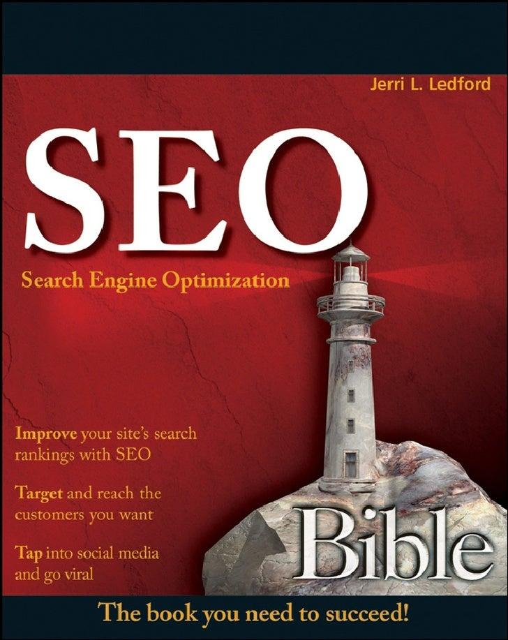 Seo Search Engine Optimization Bible Dec 2007