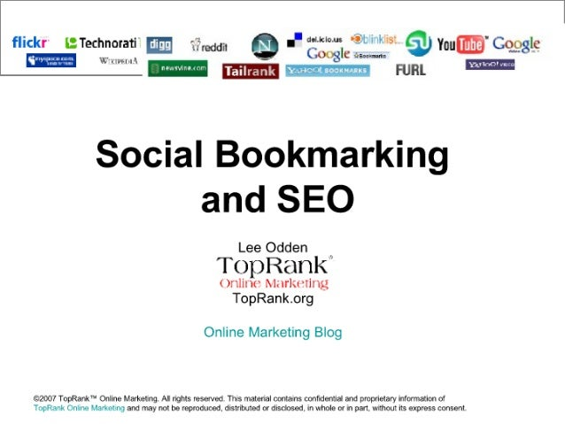 SEO Social Bookmarking