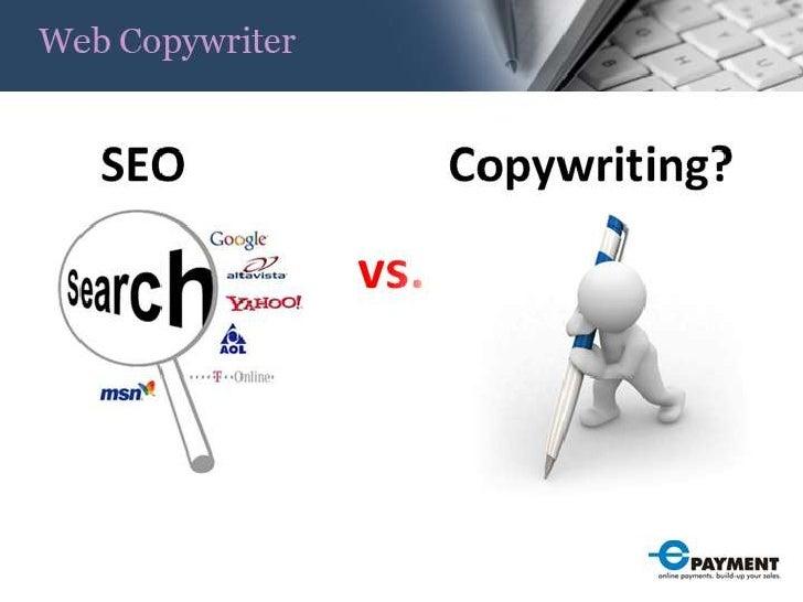 Seo Vs Copywriting