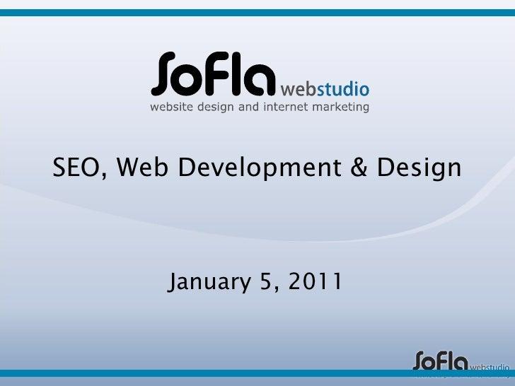 SEO, web development & web design services by SoFla Web Studio