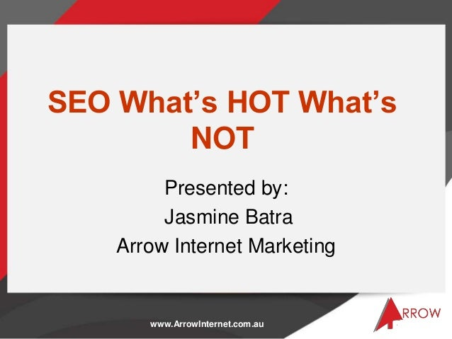 SEO! What's HOT?