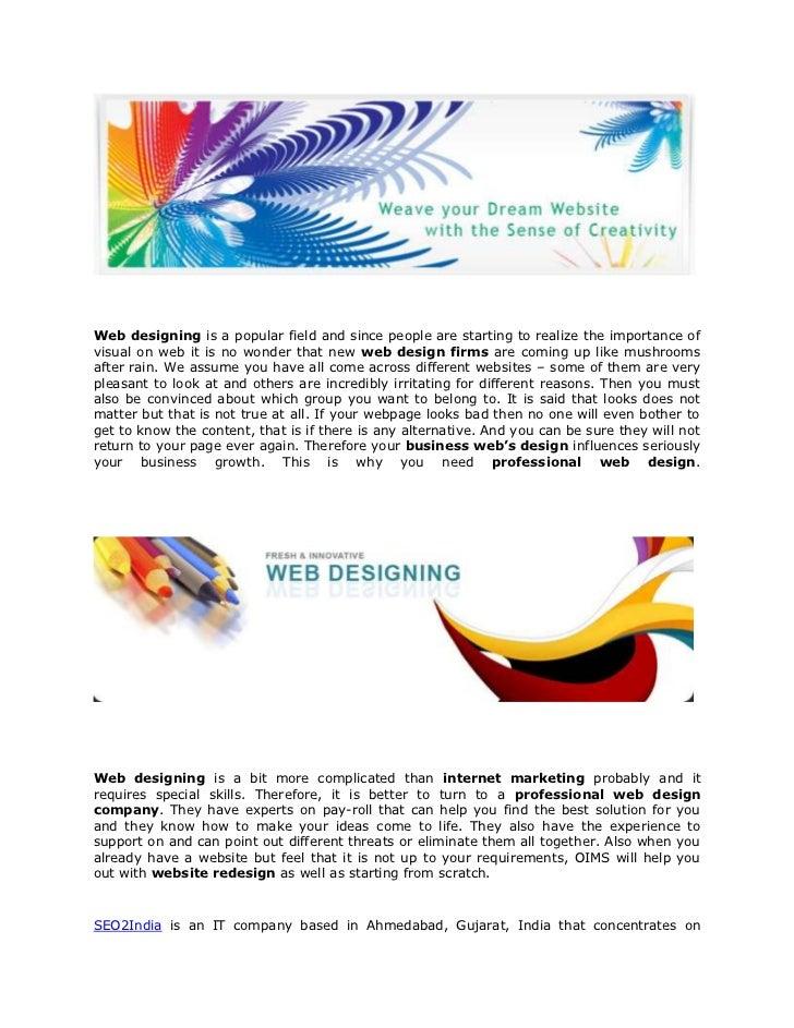 Seo2India webdesigning