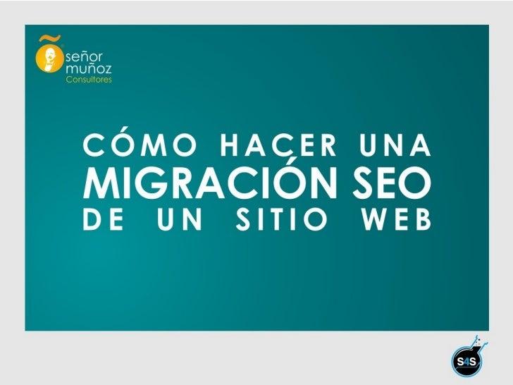 Como hacer una migración de un sitio web