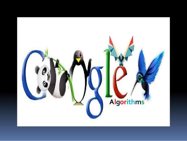 Google Algorithm Algorithms Index  Google