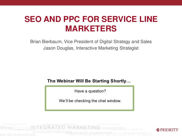SEO and PPC for Hospital Service Line Marketers