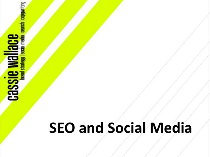 SEO and Social Media<br />