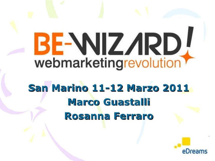 San Marino 11-12 Marzo 2011 Marco Guastalli Rosanna Ferraro