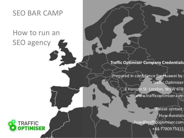 Seo bar camp presentation - how to scale your agency