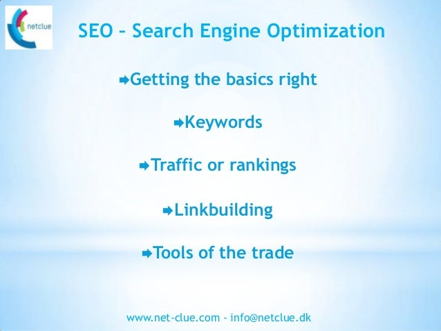 SEO basics - a guide to SEO for everyone