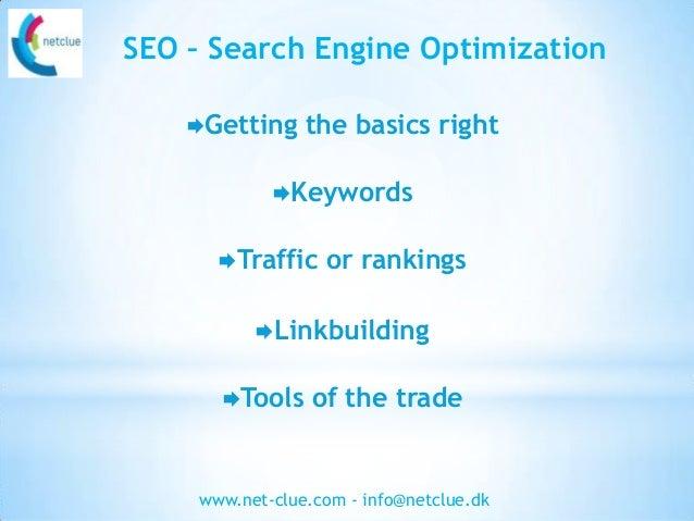 SEO basics - a guide to SEO for everyone