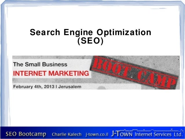 Seo Bootcamp for Small Buisinesses