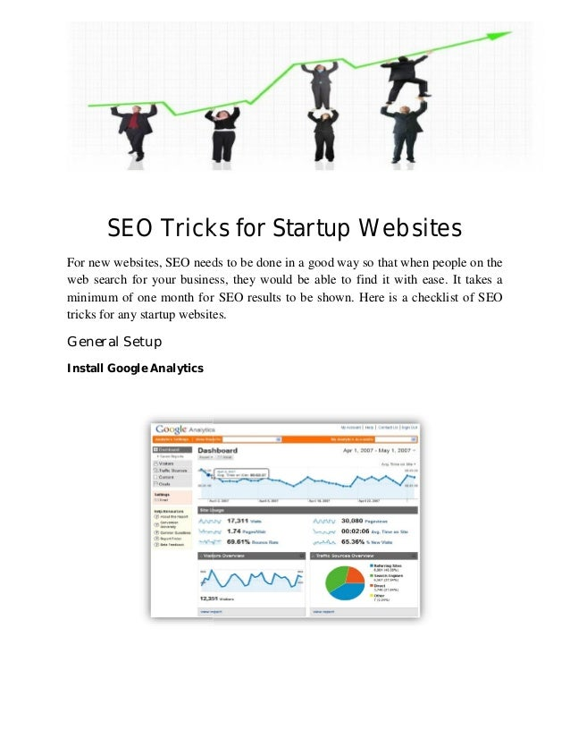 SEO Tricks For new websites, SEO needs to be done in a good way so that when people on the web search for your business, t...