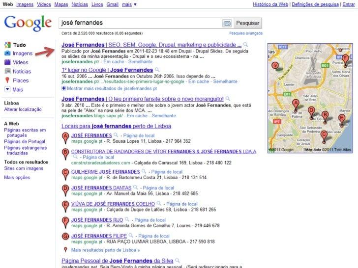 O que é o SEO?• Segundo a Wikipedia:    Otimização de Sites é o conjunto de estratégias com o objetivo de potencializar e ...