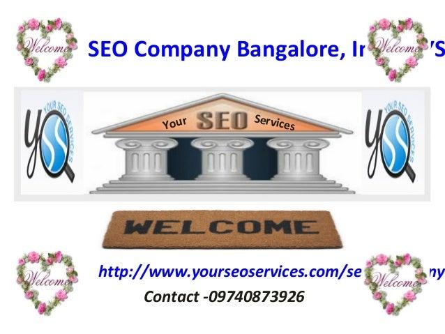 Seo company bangalore, india   yss