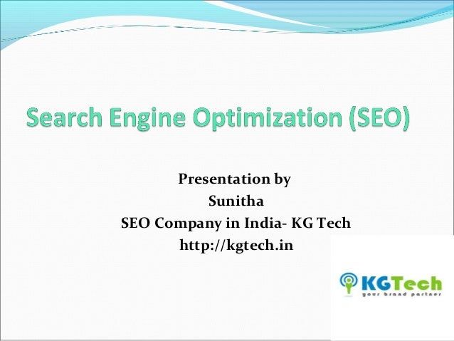 Basics of SEO by SEO Company in India