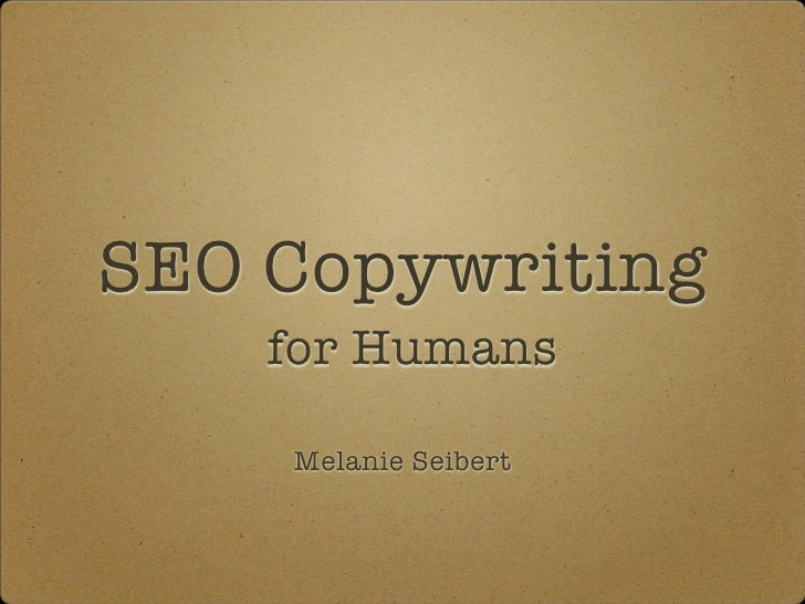 SEO Copywriting for Humans