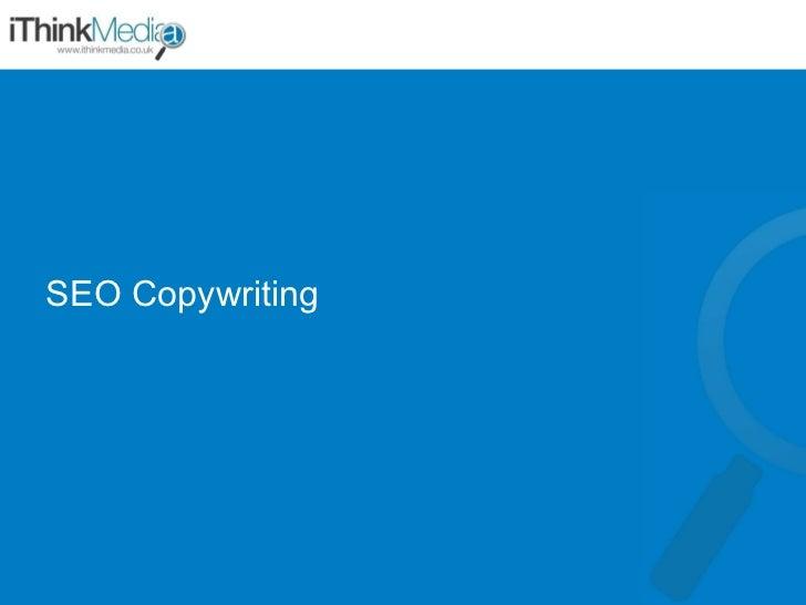 iThinkMedia SEO Copywriting