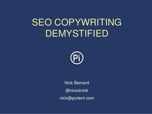 SEO Copywriting Demystified: How to Get Started Writing for the Web