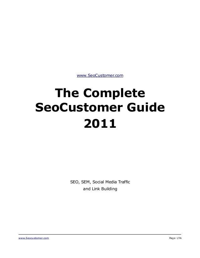 SeoCustomer Hot Tricks & Tips 2011 - SEO, Social Media, SEM, Link Building