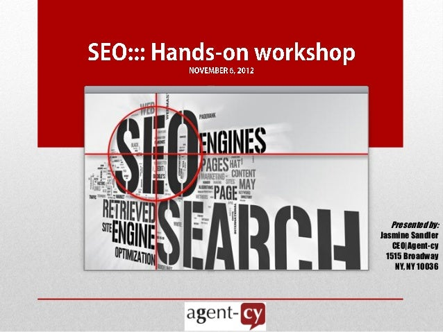 SEO Workshop Presentation