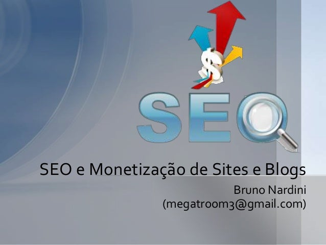 Seo e monetização de sites e blogs
