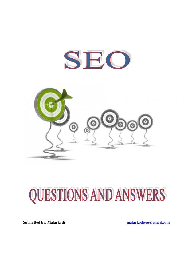SEO - Interview Questions And Answers