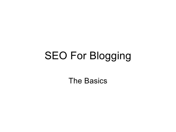 SEO For Blogging - DigitalSherpa