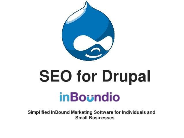 SEO for drupal