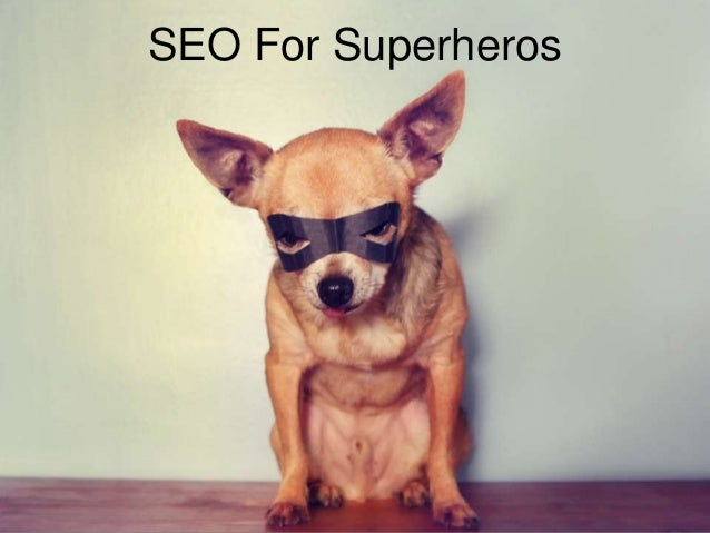 SEO For Superheros