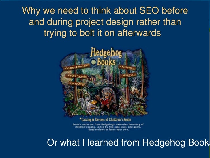 SEO for web designers