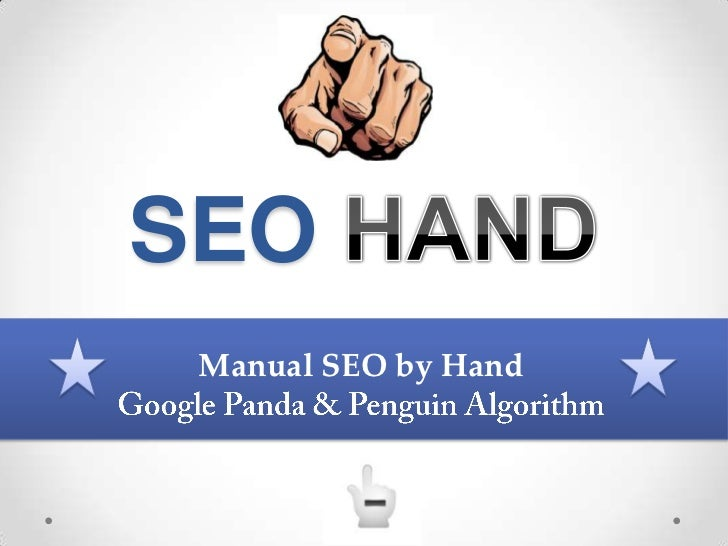SEO Manual SEO by Hand