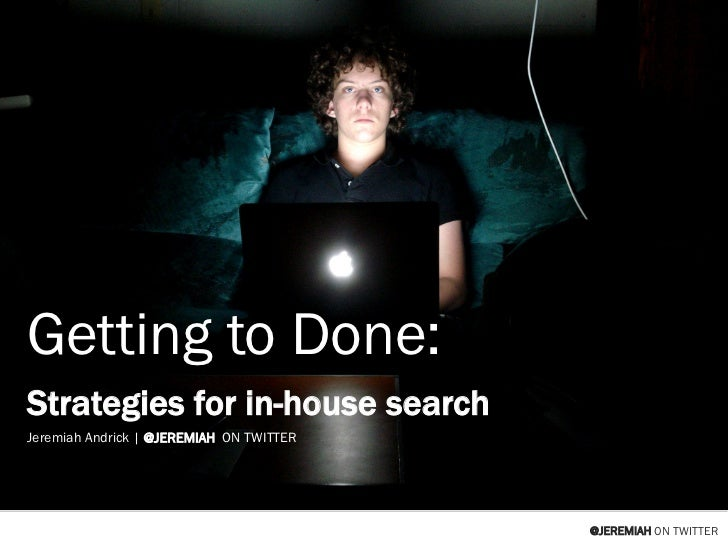 SMX West 2011: Getting things done in-house