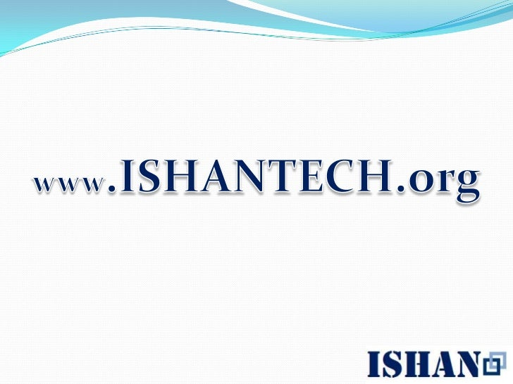 ISHAN-TECH Consulting
