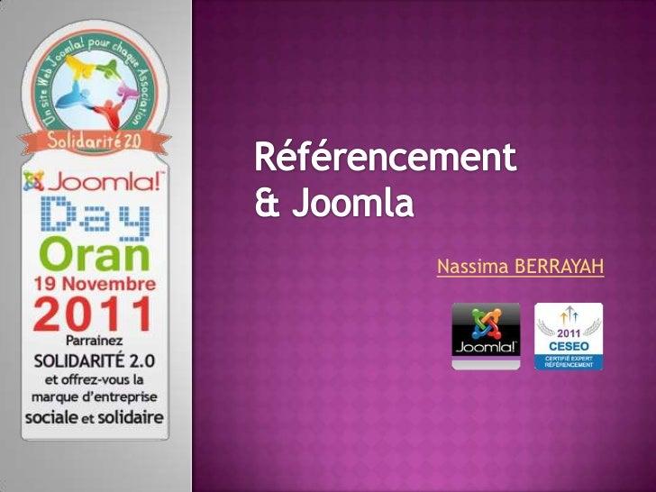 Conférence SEO Joomla