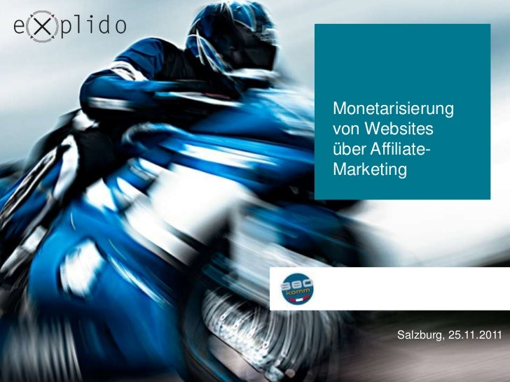 Monetarisierung von Websites über Affiliate Marketing