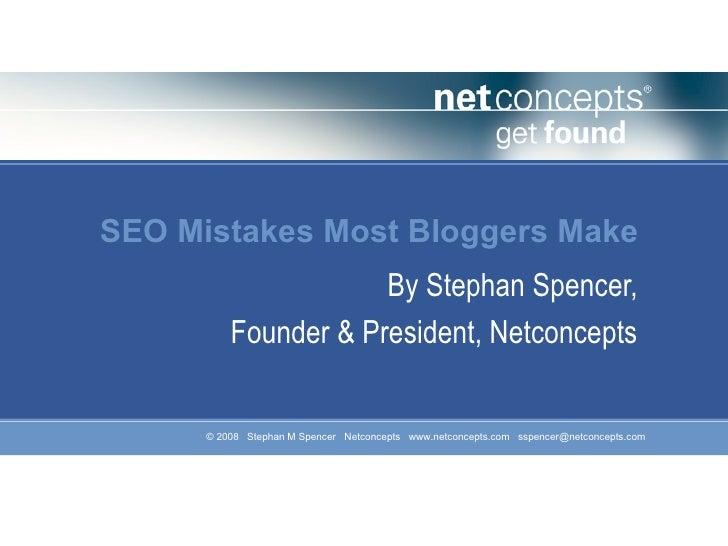 SEO Method For Blogger