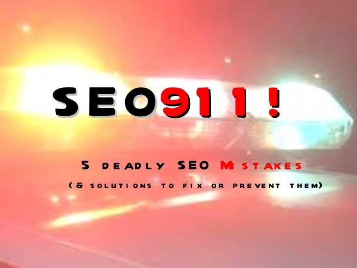 Seo mistakes911 fabella